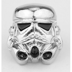 PIN STAR WARS STORMTROOPER PLATEADO