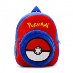 MOCHILA BEBE POKEMON POKEBALL