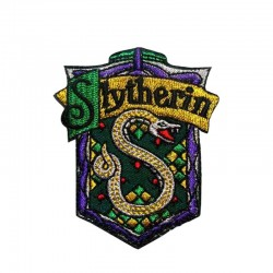 PARCHE HARRY POTTER SLYTHERIN NUEVO LOGO