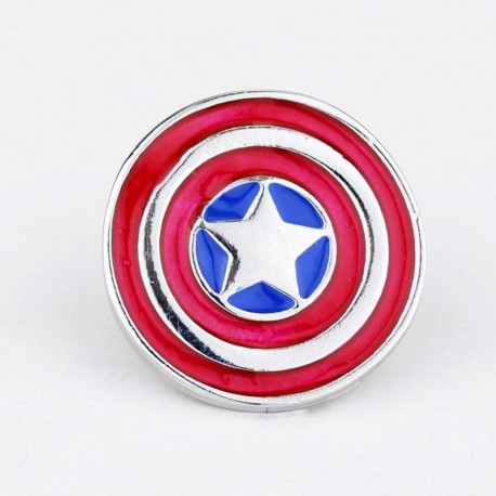 PIN MARVEL CAPITAN AMERICA ESCUDO