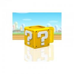 TAZA 3D SUPER MARIO QUESTION BLOCK