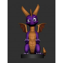 FIGURA CABLE GUY SPYRO THE DRAGON 25cm (CON CABLE 3M Y ADAPTADORES)