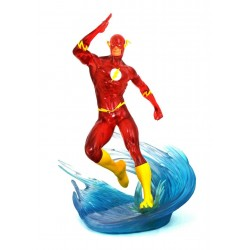 FIGURA DC DIAMOND GALLERY THE FLASH SDCC EXCLUSIVE SPEED FORCE EDITION 28cm