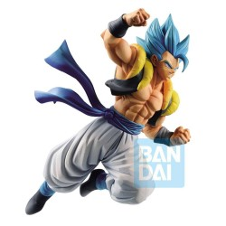 FIGURA BANPRESTO DRAGON BALL SUPER Z-BATTLE SUPER SAIYAN DIOS GOGETA BLUE 20cm