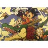 POSTER DRAGON BALL Z SON GOKU WITH SHENRON & FRIENDS 52x38cm