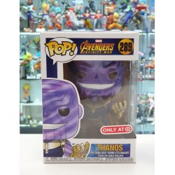 (RS) FUNKO POP MARVEL INFINITY WAR THANOS (NEON)