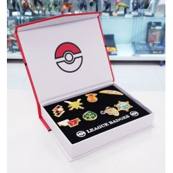 SET DE 8 PINS POKEMON INSIGNIAS DEL GIMNASIO KALOS