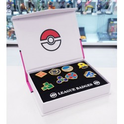 SET DE 8 PINS POKEMON INSIGNIAS DEL GIMNASIO SINNOH