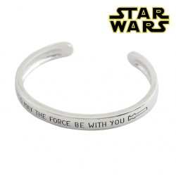 BRAZALETE STAR WARS MAY THE FORCE BE WITH YOU
