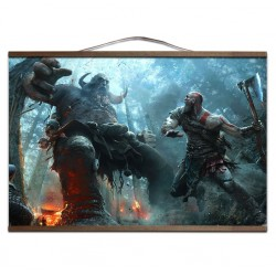 POSTER LIENZO GOD OF WAR 60x90cm