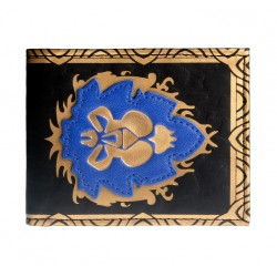 CARTERA WORLD OF WARCRAFT LOGO ALIANZA