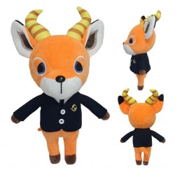 PELUCHE ANIMAL CROSSING BEAU 35cm