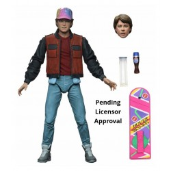 FIGURA NECA REELTOYS REGRESO AL FUTURO 2 ULTIMATE MARTY MCFLY 20cm