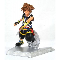 FIGURA DIAMOND GALLERY KINGDOM HEARTS SORA DIORAMA 18cm