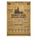 POSTER HARRY POTTER DAILY PROPHET HOGWARTS INCREASES SECURITY 43x30cm