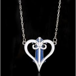 COLGANTE KINGDOM HEARTS WHITE HEART