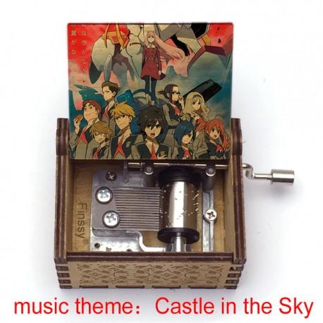 CAJA DE MUSICA DARLING IN THE FRANXX (MUSIC: CASTLE IN THE SKY)