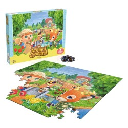 PUZZLE ANIMAL CROSSING NEW HORIZONS 665x500mm (1000Pz)