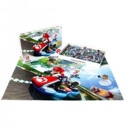 PUZZLE NINTENDO SUPER MARIO KART +POSTER 683x480mm (1000Pz)