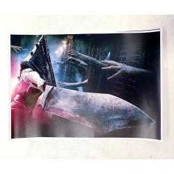 POSTER/PRINT SILENT HILL PYRAMID HEAD GREAT SWORD 42x30cm