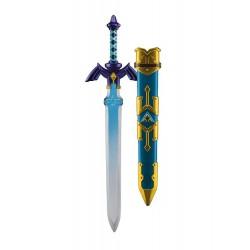 ESPADA REPLICA PLASTICO THE LEGEND OF ZELDA SKYWARD SWORD 66cm