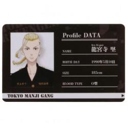 TARJETA DE IDENTIFICACION TOKYO REVENGERS (PERSONAJE)