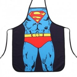 DELANTAL SUPERMAN