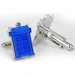 GEMELOS DOCTOR WHO POLICE BOX