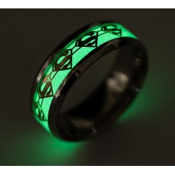 ANILLO SUPERMAN LUMINOSO