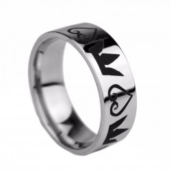 ANILLO KINGDOM HEARTS CROWN&HEARTS