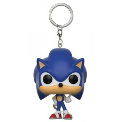 LLAVERO FUNKO SONIC THE HEDGEHOG WITH RING