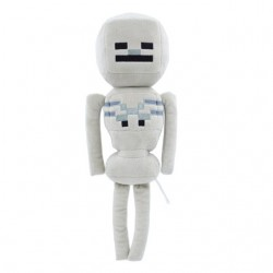 PELUCHE MINECRAFT WHITE SKELETON 25cm