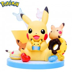 FIGURA POKEMON PIKACHU TEA PARTY
