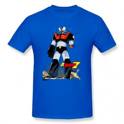 CAMISETA MAZINGER Z FULL BODY AZUL