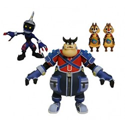 PACK DE FIGURAS DIAMOND SELECT KINGDOM HEARTS SOLDIER, PETE, CHIP&DALE
