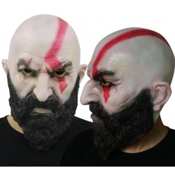 MASCARA LATEX GOD OF WAR KRATOS
