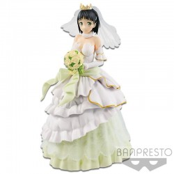 FIGURA BANPRESTO EXQ SWORD ART ONLINE SUGUHA WEDDING 24cm
