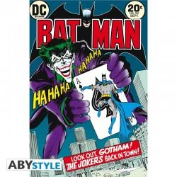 POSTER DC BATMAN VS. JOKER COMIC (61x91cm)
