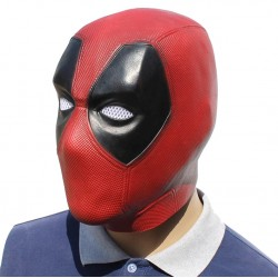 MASCARA LATEX MARVEL DEADPOOL