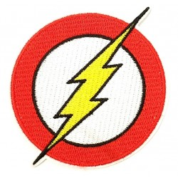 PARCHE DC THE FLASH LOGO