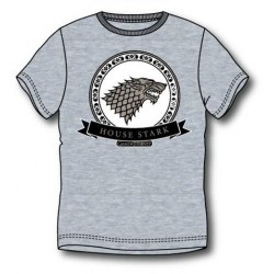 CAMISETA JDT HOUSE OF STARK GRIS