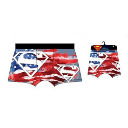 BOXER DC SUPERMAN AMERICAN FLAG
